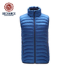 2019 Fashion Men's Winter Down Vest Body Warmer Jacket
