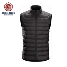 unisex padded vest Quilted Gilet with front zipped pockets men waistcoat
