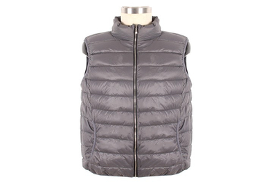 M1081 Men Sleeveless Stand Collar Down Vest